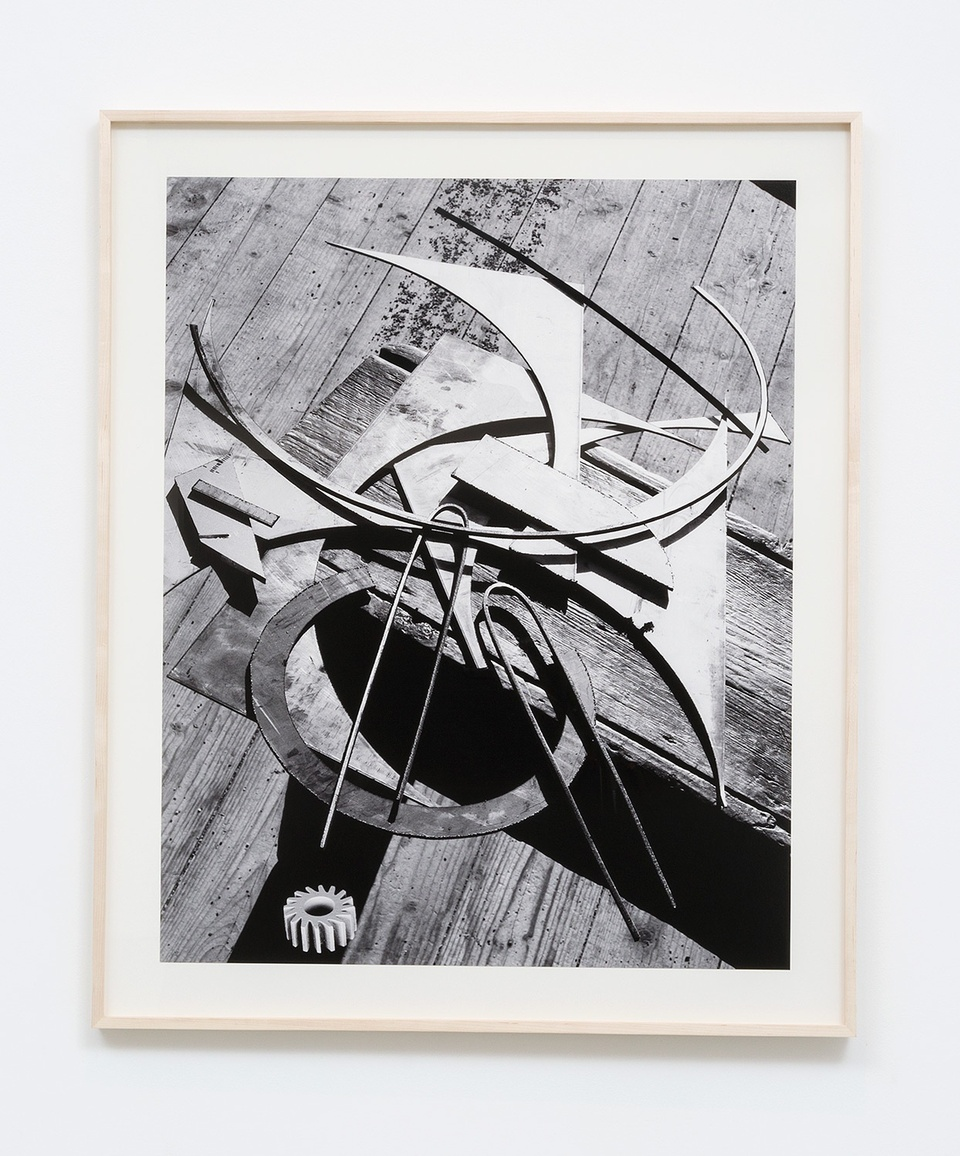 Image: Matthew Porter  Curves, Floor, Gear, 2015  signed, dated, titled and numbered verso  archival pigment print  image size: 34-1/2 x 27-5/8 inches frame size: 40 x 33-1/8 inches  edition of 4 plus 2 artist's proofs