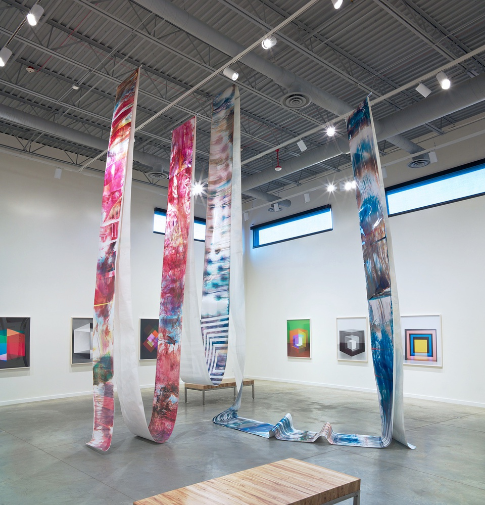 Image: Process and Abstraction: Jessica Eaton, Mariah Robertson, Alison Rossiter • Cleveland Museum of Art's Transformer Station, Cleveland • February 15 - May 2, 2015